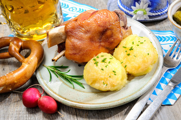 German Pork Knuckle- Schweinshaxe