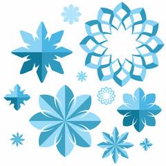 Snowflake. Set