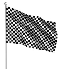 Checked start flag