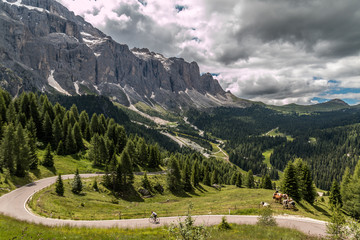 Dolomites route