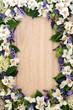canvas print picture - Summer Flower Border