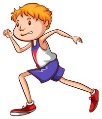 A sketch of a runner