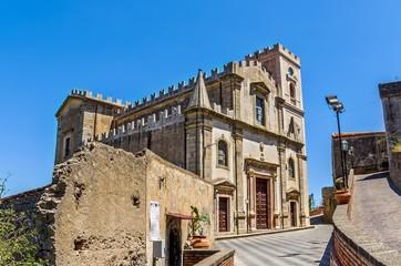 Church Santa lucia,Savoca,Sicily.