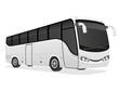 big tour bus vector illustration - 71545142