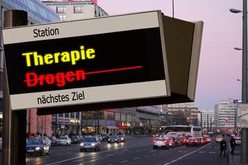 Anzeigetafel 5b - Therapie
