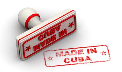 Сделано на Кубе (Made in Cube). Печать и оттиск
