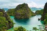 Fototapety landscape of Coron, Palawa, Philippines
