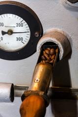 strumento per verificare la tostatura del caffè