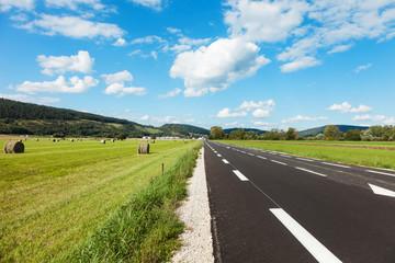 asphalt road, outdoor