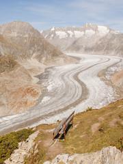 Riederalp, Bergdorf, Aletsch, Gletscher, Alpen, Wallis, Schweiz