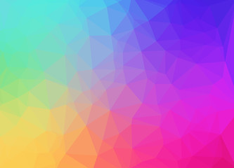Vector background abstract, colorful gradient