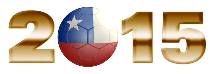 Chile Soccer South America 2015