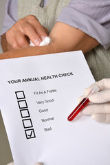 your annual health check bad