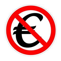 Euro forbidden