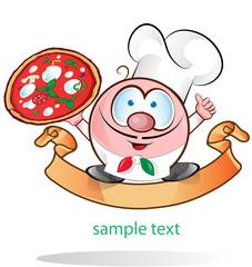 italian chef cartoon