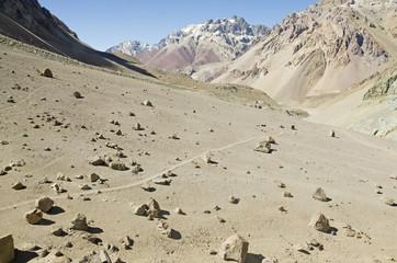 Trail throught the Mountain Wilderness