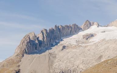 Riederalp, Dorf, Fusshörner, Berggipfel, Alpen, Schweiz