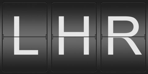 Three Letter Code of London Heathrow Airport