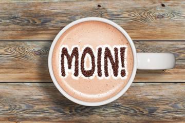 Kaffeetasse - Moin!