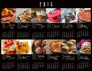 Calendrier 2015 desserts-1