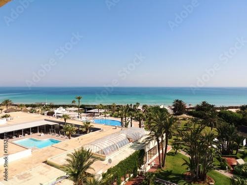 In de dag Tunesië Urlaub