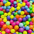 3d balls in rainbow color - colorful plastic ball