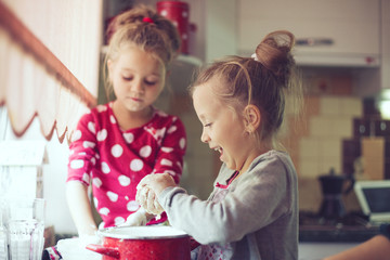 Kids at the kitchen