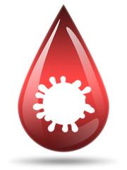 Ilustração - Vírus da sida
