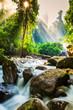 Tropical waterfall - 71554377