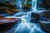 Fotoroleta Tropical waterfall