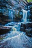 Naklejka Tropical waterfall