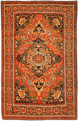 Antique Red Persian Carpet