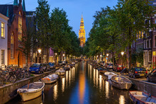 "Постер, картина, фотообои ""Amsterdam canals"""