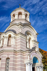 Orthodox Church, Riga in autumn