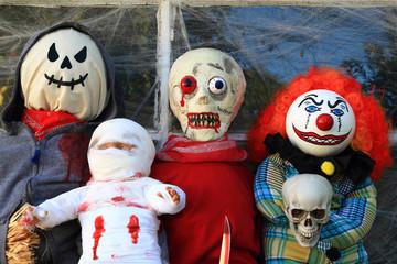 Halloween Monsters Decoration