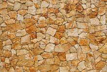 Vieux mur, construit de briques rugueuses