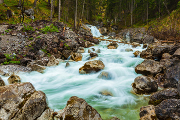 Cascade of waterfall, Garmisch-Partenkirchen