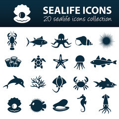 sealife icons