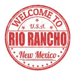 Welcome to Rio Rancho stamp