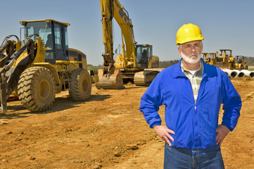 Supervisor On Highway Construction Project