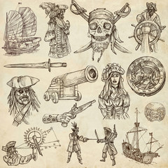 pirates (no.2) - An hand drawn collection