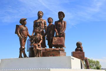 Flüchtlingskinder Denkmal