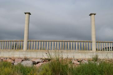 promenade near beach spain