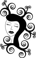 beuty woman logo