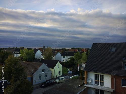 canvas print picture Dorf