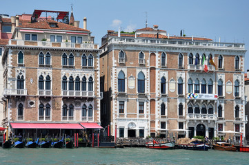 Palast am Canale Grande