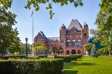 The Legislative Building, Toronto, Canada