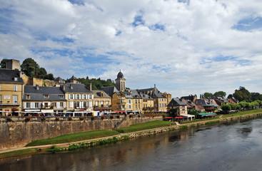 La Vezere a Montignac, Aquitania - Francia