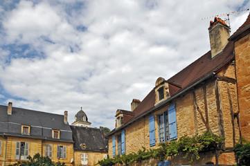 Montignac, Aquitania - antiche case