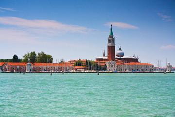 San Giorgio Maggiore in Venice, Italy.